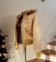 zlatna zimska jakna 38