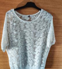 Bijela pletena majica