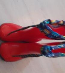Gumene cizme za curku vel 29 ukjluc postar