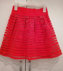 Tally Weijl crvena suknja