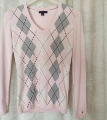Nježno rozi T.Hilfiger pulover