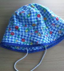 Šareni šeširić kapa za bebe s laštikom 74/80