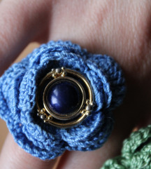 Ručno rađena kukicana prstenja