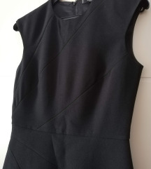 NOVA Mango crna klasična haljina