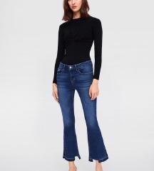 Zara flare jeans