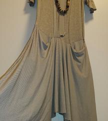 Zanimljiva asimetrična haljina/ tunika