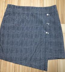 Mini karirana suknja - nikad nošena