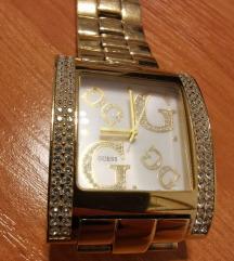 Guess zlatni sat
