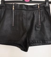 Zara kožne hlačice