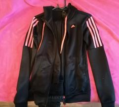 Adidas crno roza neon trenirka