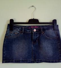 SKANDAL jeans mini suknja