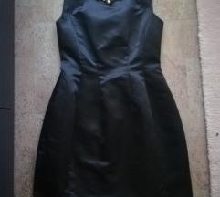 ZARA crna haljina (ukljucen tisak)
