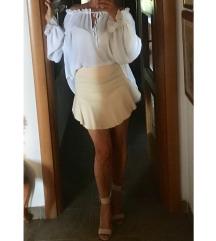 Zara peplum suknja