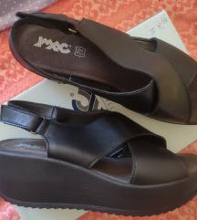 Imac kožne platforma sandale