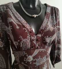 MANGO haljina S/M, prava svila sada 95kn %%%
