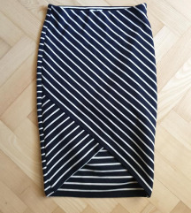 Zara tuba suknja na prugice