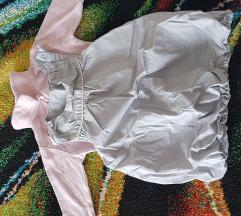 Haljina na puf i body košulja