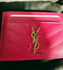 Ysl card holder original