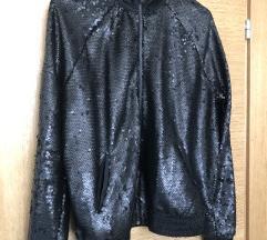 Bershka šljokičasta nova jaketa