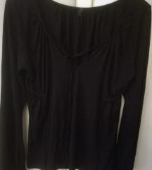 Crna rastezljiva majica, xxl, 42/44