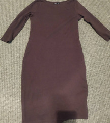smeđa haljina sinsay