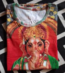 Kratka majica s motivom Ganesha