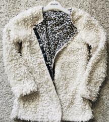 Bijela teddy jaknica vel S-M