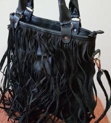 Crna torbica sa resicama