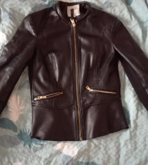Kožna jakna Zara xs