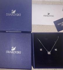 Swarovski Set - naušnice + ogrlica