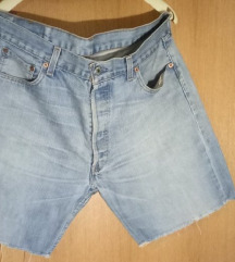 Original Levis 501 kratke hlače vel. 36