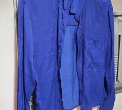 Plava košulja Bershka%