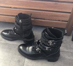 Zara kozne biker boots