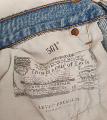 LEVI'S 501 kratke jeans hlače NOVE