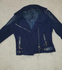 Plava kratka jakna