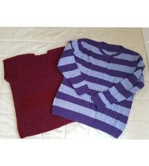 Lot dva pulovera