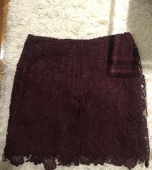 Čipkasta H&M suknja
