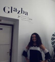 Crno- bijela haljina