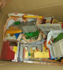 Ogromna kutija Schleich farma,kuća,životinje i dr