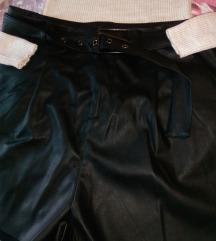 Kožne kratke hlače (komplet)