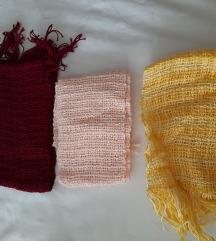 Novi tkani šalovi ručni rad