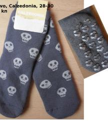 Nove Calzedonia termo čarape papuče, 28-30