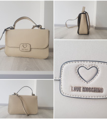 Moschino Love beige torba ORIGINAL