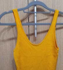 H&M Žuta ljetna haljina