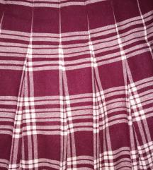 Retro midi karirana suknja 36