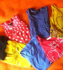 Lot modernih majica