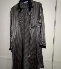 Haljina ogrtač 100%svila