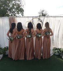 Zlatna svečana haljina