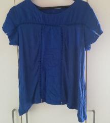 Plava ljetna bluza