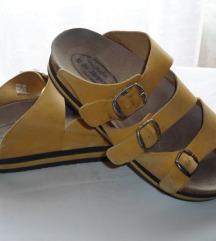 Dr.Jurgens oker žute kožne sandale br.37